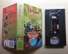 FIMBLES - LET'S FIND THE FIMBLES - VHS VIDEO - BRAND NEW & SEALED
