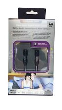 Monster Cable JHIU FO-1M High Quality Fiber Optic Digital Audio Cable - 3 Ft