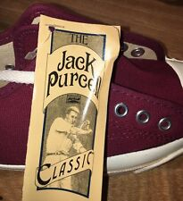 RARE JACK PURCELL VINTAGE SNEAKERS MADE IN USA SZ 4 80's 90's Posture Foundation