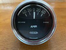 RARE Jaeger Ammeter Gauge For Alfa Romeo Citroen Renault Peugeot & Others