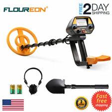 Waterproof Search Coil Underground Metal Detector Pinpointer w/Shovel Headphone