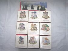 Liberty Falls Village The Americana Collection Lot 10 Boxed Set Christmas Tree
