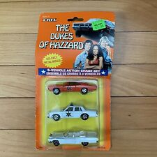 Vintage Ertl The Dukes of Hazzard 3 Vehicle Action Chase Set 3 Pack General Lee
