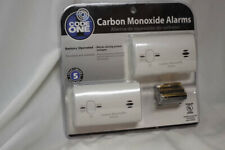 Code One Carbon Monoxide Alarm Battery Operated NEW 2 in pack