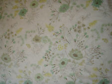"DESIGNERS GUILD CURTAIN FABRIC ""Wild Flower"" 3.3 METRES WILLOW (330 CM) F2005/02"