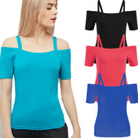 S-6XL Fashion Women Short Sleeve Shirt Blouse Tops Loose Casual T-Shirt