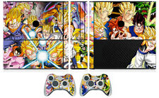 Dragon Ball 272 Vinyl Skin Sticker for Xbox360 Slim E and 2 controller skins