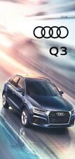 2018 Audi Q3 22-page Original Car Sales Brochure Catalog