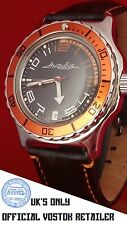 NEW STUNNING VOSTOK RUSSIAN MILITARY WATCH AMPHIBIA - OFFICIAL UK RETAILER