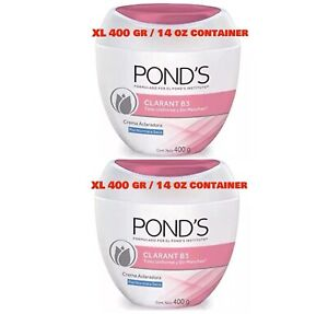 Lot of 2 Pond's 14Oz 400 GR Clarant B3 Dark Spot Cream Normal to Dry Skin Light