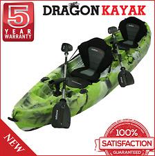 New Dragon Kayak 2.5 Seater Deluxe Best Family Fishing Kayak - Amazon