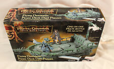 """PIRATES OF THE CARIBBEAN """"FLYING DUTCHMAN PIRATE DECK DUEL PLAYSET""""  NEW"""