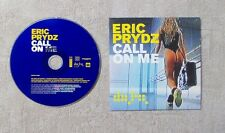 """CD AUDIO MUSIQUE / ERIC PRYDZ """"CALL ON ME"""" 2T CD SINGLE 2004 CARDBOARD SLEEVE"""