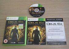 Deus Ex: Human Revolution - PAL - Microsoft XBOX 360 Game - Complete
