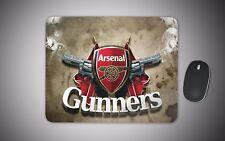 Arsenal mouse mat gaming laser non slip fabric rubber gunners football