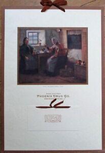 Aberdeen, MS 1914 Pharmacy Advertising Calendar: Phoenix Drug Co. - Mississippi