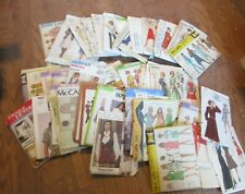 Lot of 53Vintage Sewing Pattern Simplicity Vogue McCall's Mostly 60's & 70's Uc
