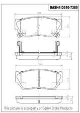 Disc Brake Pad Set-Metallic Pads Front Pronto PMD510