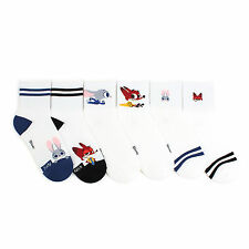 [Free shipping] Zootopia socks pack of 6pairs Judy Flash Nick Disney JL