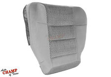 2003 Ford F150 XLT Extended-Cab X-Cab -Driver Side Bottom Cloth Seat Cover Gray