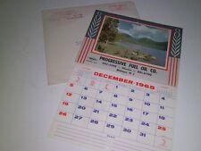 1965 Calendar PROGRESSIVE FUEL CO. Sunoco Malaga  N.J. Unused/Complete in sleeve