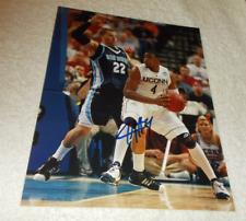 JEFF ADRIEN UCONN HUSKIES SIGNED AUTOGRAPHED 8x10 Photo Basketball