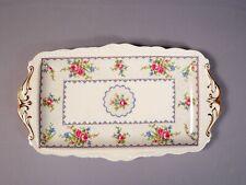 Royal Albert Bone China Petit Point Cake SANDWICH Scalloped Snack TRAY DISH
