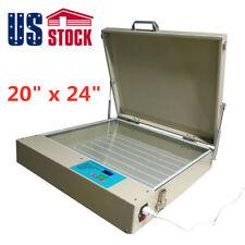 Usa 20 X 24 Silk Screen Led Uv Exposure Unit 80w 110v Tabletop Precise Machine