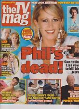 The TV Mag (The Sun) 20 September 2003, Eastenders, Lisa vows to kill Phil