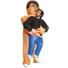Morphcostumes - Naked Man Pick Me Up - Adult Inflatable Costume