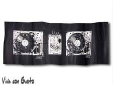 Tela Diesel negro blanco Soundsystem 58x188 NUEVO Hst Zucchi