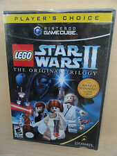 Player's Choice LEGO Star Wars II: The Original Trilogy Nintendo GameCube NEW