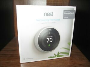 Nest Learning thermostat Sealed in Box