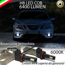 KIT FULL LED SAAB 9 3 II RESTYLING LAMPADE H8 FENDINEBBIA CANBUS 6400L 6000K