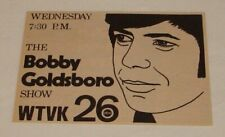 1973 WTVK tv ad ~ THE BOBBY GOLDSBORO SHOW