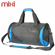 "Mixi Designer Totes Bag Gym Sports Duffle Bag Satchel Training Bags 18"" Blue"