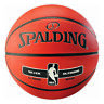 Spalding Basketball NBA Silver Outdoor Sz. 7 Orange 3001592020017