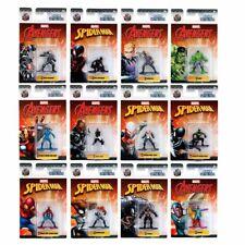 MARVEL Spiderman Vengadores Nano estatuillas de Metal Fundido-opción de 12 caracteres