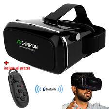 Occhiali virtuali 3D.VR Shinecon Realtà Virtuale universale.Telecomando inncluso