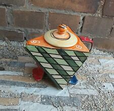 Teiera caraffa caffè Ceramica trianguli Oggetto di design teapot