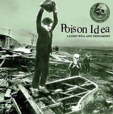 POISON IDEA Latest will and testament CD (2006 Farewell Records)