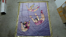 Flying Wallendas Ringling Bros & Barnum Bailey Double Side Circus Banner 6x7 ft