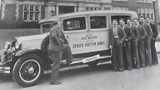 """12 By 18"""" Black & White Picture Ford 1930-31 - Ford Special Touring Bus"""