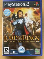 Lord of the RingsReturn of the King PS2 Game Sony PlayStation 2 Based Film Movie