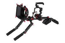 Rig Cage For GH5 + follow focus+Mattebox Shoulder Rig Support Hand Grip