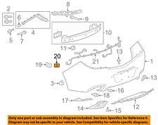 Buick GM OEM 12-13 Regal Rear Bumper-Park Sensor Retainer Right 13266220
