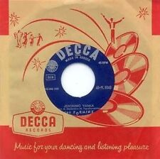 THE FORMINX - JERONIMO YANKA - DECCA LBL - GREECE 45
