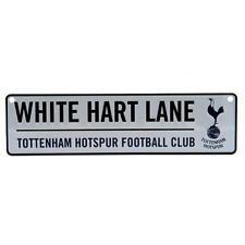 Tottenham Hotspur FC Hanging Metal Novelty Number Plate Sign White Hart Lane