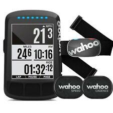 CYCLING COMPUTER WAHOO ELEMNT BOLT STEALTH BUNDLE 2020 GPS CARDIO CADENCE BIKE