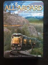 All Aboard: Great American Railroads: 5 DVDs In Storage Tin; Over 7 Hours, 1997